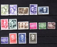 Belgique 1955, Séries Et Dépareillés De L'année 1955, Entre 943 Et 985 Ob, Cote 151 € - Belgique