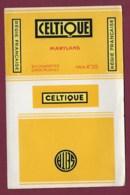140120D - TABAC ETIQUETTE Cigarette - SEITA CELTIQUE Maryland Prix 4F25 20 Cigarettes Gros Module - Zigarettenzubehör