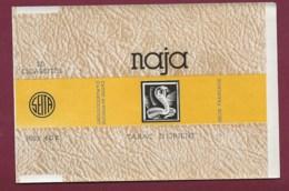 140120D - TABAC ETIQUETTE Cigarette - SEITA NAJA Tabac D' Orient 20 Cigarettes 40F Serpent - Zigarettenzubehör
