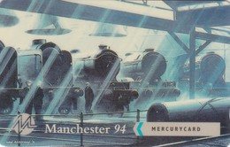 Mercury, MER636, Manchester '94, Sleeping Giants, Train, Unused, Only 1000 Issued, 2 Scans.    20MERA/WC - Reino Unido