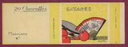 140120D - TABAC EMBALLAGE Cartonné Cigarette - GITANES Maryland 4F 20 Cigarettes - éventail Orange M Giot - Zigarettenzubehör
