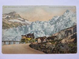 CPA SUISSE - Rhonegletscher Und Furkapost - Glacier Du Rhône Et Poste De La Furka - UR Uri