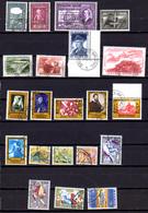 Belgique 1956-59, Séries Mozart, Patton, Culturelle, Légendes Et Folklore, Entre 987 Et 1120,cote 45 €, - Belgique