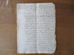 27 NOVEMBRE 1685 CHABONS CACHETS G.D.GRENOBLE P.P.2 SOLS 4D.(6) - Cachets Généralité