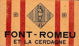66 Font Romeu Et La Cerdagne Carnet Complet De 24 Cartes édition Spéciale Du Sanctuaire - France