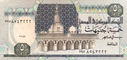 Egypt 5 Pounds, P-59 (1.10.1997) - UNC - Sign.19 - Aegypten