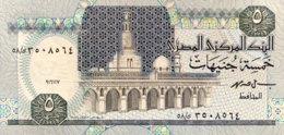 Egypt 5 Pounds, P-59 (16.11.1997) - UNC - Sign.19 - Aegypten