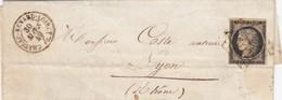 LETTRE N°3 GRILLE T15 CHATEAU-RENARD LOIRET. 30 MARS 49. - 1849-1850 Cérès
