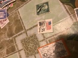 Usa Flag - Stamps