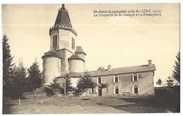 Saint Jean Lagineste Près St Céré La Chapelle De St-Joseph Et Le Presbytère - France