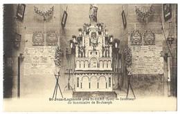 Saint Jean Lagineste Près St Céré Intérieur Du Sanctuaire De St-Joseph - France