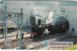 Mercury, MER640, CardEx   Locomotives, Steam Train, Unused, Only 2000 Issued, 2 Scans.    49MERTWOA/WC - Reino Unido
