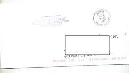 Lettre  Cachet Poste 26269A + Pas Taxer Demande Expediteur - Storia Postale