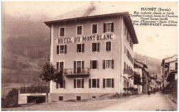 73 FLUMET - Hotel Du Mont-Blanc - Autres Communes