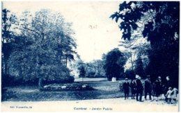 59 CAMBRAI - Jardin Public - Cambrai