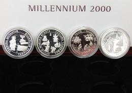 Kiribari - Samoa 8 Coins X 5 $ 1998 - 2000 - Kiribati