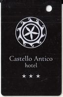GREECE - Castello Antico, Hotel Keycard, Used - Cartes D'hotel