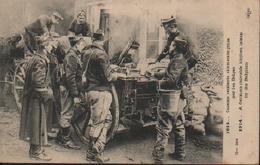 1914 CUISINE ROULANTE ALLEMANDE PRISE PAR LES BELGES - Guerre 1914-18