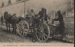 GUERRE DE 1914 CUISINE ALLEMANDE CAPTUREE PAR LES FRANCAIS A VIC-SUR-AISNE - Guerre 1914-18