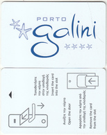 GREECE - Porto Galini(reverse 2), Hotel Keycard, Used - Cartes D'hotel