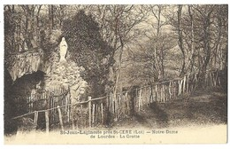 Saint Jean Lagineste Près St Céré Notre-Dame De Lourdes La Grotte - France