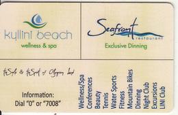GREECE - Kyllini Beach, Hotel Keycard, Used - Cartes D'hotel
