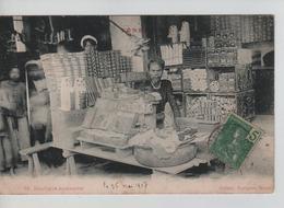 CBPNCPCF20/ Vietnam CP Tonkin Boutique Annamite Animée 1907 - Sonstige