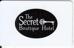 GREECE - The Secret, Hotel Keycard, Used - Cartes D'hotel