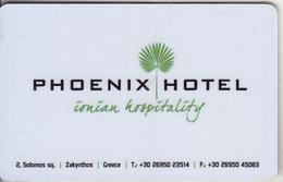 GREECE(chip) - Phoenix, Hotel Keycard, Used - Cartes D'hotel
