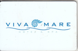 GREECE - Viva Mare, Hotel Keycard, Used - Cartes D'hotel