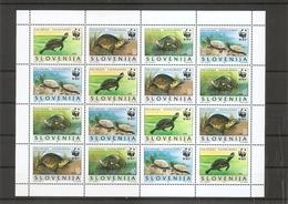 WWF ( 122/125 En Feuille XXX -MNH- De Slovénie) - W.W.F.