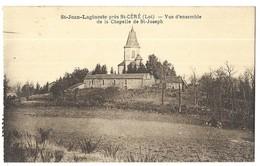 Saint Jean Lagineste Près St Céré Vue D' Ensemble De La Chapelle De St-Joseph - France