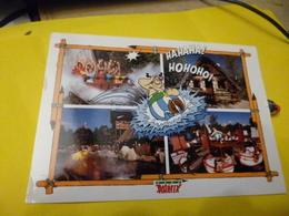 Carte Astérix 4 Vues (ecrite Avec Timbre  Journée Du Timbre 1999 Obelix  ) - Postales