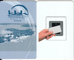 GREECE - Kontokali Bay, Hotel Keycard, Used - Cartes D'hotel