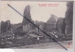 Magnières (54) Groupe De Maisons - En Lorraine,Guerre 1915-15) - France