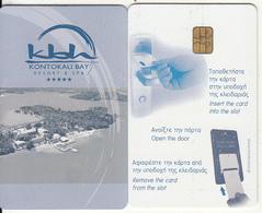 GREECE(chip) - Kontokali Bay, Hotel Keycard, Used - Cartes D'hotel
