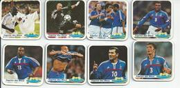 France 98. Euro 2000 Serie Complete Magnets Caprice Des Dieux Zidane Etc - Sports