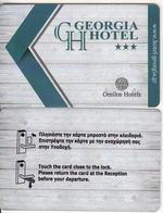 GREECE - Georgia, Hotel Keycard, Used - Cartes D'hotel