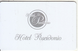 GREECE - Poseidonio, Hotel Keycard, Used - Cartes D'hotel