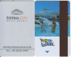 GREECE - Esperia City, Hotel Keycard, Used - Cartes D'hotel