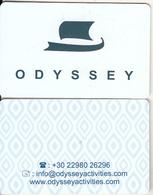 GREECE - Odyssey, Hotel Keycard, Used - Cartes D'hotel
