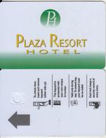 GREECE - Plaza Resort, Hotel Keycard, Sample(no Chip) - Hotelsleutels (kaarten)