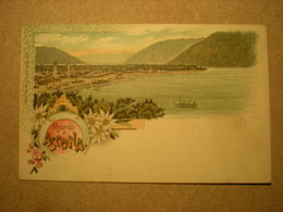 ASCONA - LITHO RICORDO DI ASCONA - TI Ticino