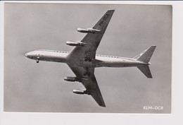 Vintage Rppc KLM K.L.M Royal Dutch Airlines Douglas Dc-8 Inflight - 1919-1938: Between Wars