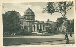 Bad Oeynhausen 1923; Badehaus IV - Gelaufen. (H. W. Völcker - Bad Oeynhausen) - Bad Oeynhausen
