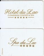 GREECE - Hotel Du Lac Congress Center & Spa, Hotel Keycard, Used - Hotelsleutels (kaarten)