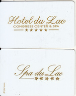 GREECE - Hotel Du Lac Congress Center & Spa, Hotel Keycard, Used - Cartes D'hotel