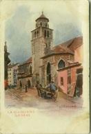 SWITZERLAND - J. REDMUND SIGNED 1900s LITHO POSTCARD - GENEVE - LA MADELAINE - EDIT VOUGA & C. (7135) - GE Geneva