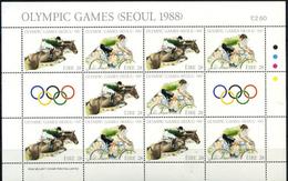 Ireland, Olympic 1988, Sheet - Zomer 1988: Seoel