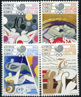 Cyprus, Olympic Games 1988, 4 Stamps - Zomer 1988: Seoel